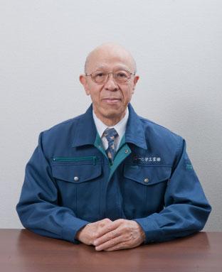 第一化学工業の社長の挨拶